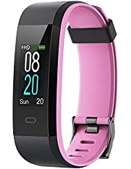 Willful Montre Connectée Podometre Femmes Homme Enfant Bracelet Connecté Cardio Smartwatch Etanche IP68 Sport Smart Watch Cardiofrequencemetre Fitness Tracker pour Android iOS Samsung Xiaomi Huawei