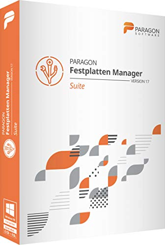 Paragon Festplatten Manager 17 Suite (Festplatte Partition Software)