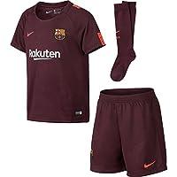 2017-2018 Barcelona Third Nike Little Boys Mini Kit