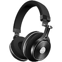 Bluedio T3 Plus Cuffie Bluetooth 4.1 Wireless Auricolari, Supporta Micro SD scheda slot, Con Microfono Stereo 3D (Nero)