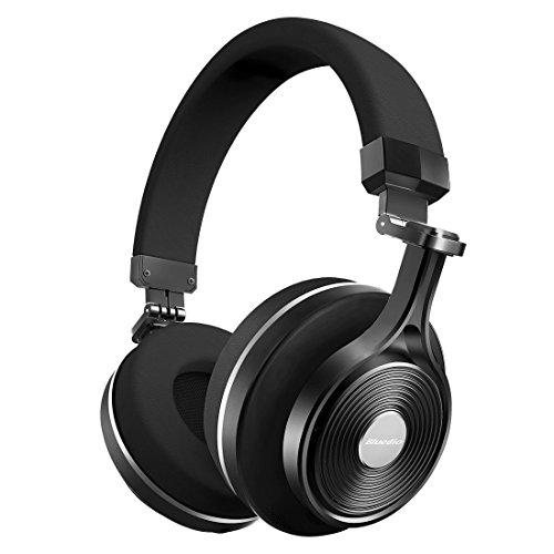 Bluedio T3 (Turbina 3) Cuffie Wireless Bluetooth 4.1 Stereo (Nero)