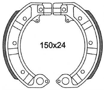 Preisvergleich Produktbild Vespa PX 125200Pk/Piaggio Bremsbacken