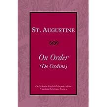 On Order [De Ordine]
