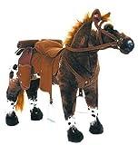 Happy People Cheval de Cowboy Anglo Araber avec différentes Variations sonores - Supportant Jusqu'à 100 kg (3 Sons)