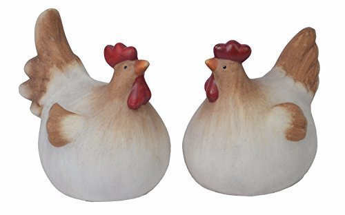 Set 2figurines de chiccie Poules Couple 18cm-Poulet Poule
