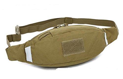 Zll/Outdoor Personal Taschen Running Herren und Frauen reiten Pocket Tactical Brust für Casual Reise Camo Handtaschen Khaki