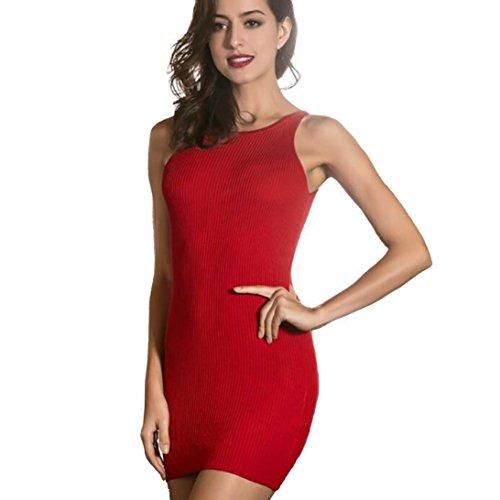 Jamicy -  Vestito  - linea ad a - Donna Red