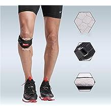 BUSL movimiento de la rótula de la rodilla de enfermería con los hombres y las mujeres que dirigen la protección de menisco deportes del bádminton rodilleras rótula de la rodilla (un par)