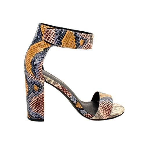 Jeffrey Campbell LINDASY Colorful Snake