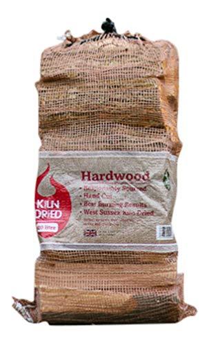 The Green Olive Firewood essiccato in Forno Meno del 20% di Legno Duro da 20 Litri, Naturale