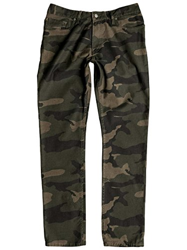 Herren Jeans Hose DC Printed Straight Jeans bold camo green
