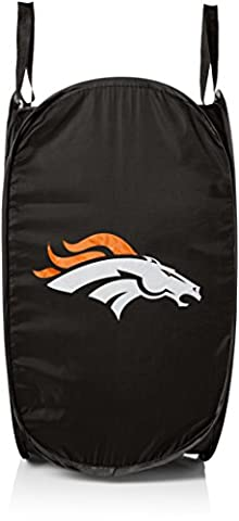 NFL Denver Broncos Unisex Team Logo Laundry Hamper, One Size