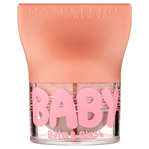 Maybelline New York Baby Lips Balm&Blush Balsamo Labbra e Blush, 6 Shimmering Bronze
