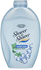 Shower to shower Super Cool Heat Powder with Mint