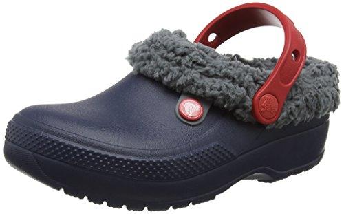 Crocs Clscblitzn3clgk, Sabots Mixte Enfant Bleu (Navy/slate Grey)