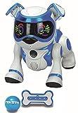 Splash Toys 30642 - TEKSTA 5G interaktiver Roboter Hund,elektronisches Haustier,mit Spielball & Spielknochen,reagiert auf Kommandos,macht Saltos,zeigt Gefühle,viele weitere Spielmöglichkeiten per App
