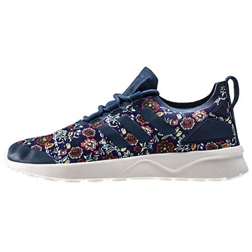 official photos d3f40 435ec Adv Verve Compétition Multicolour Chaussures Zx Running Adidas W Blue Flux  De Femme qtEBwg
