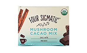 Xoco Blu, Mushroom Hot Cocoa Drink Mix con Reishi–Quattro Sigma Foods