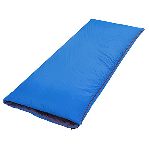 OUTAD Umschlag im Freien Schlafsack Camping Reise Wandern Multifunktions -Ultra-light (Hellblau)