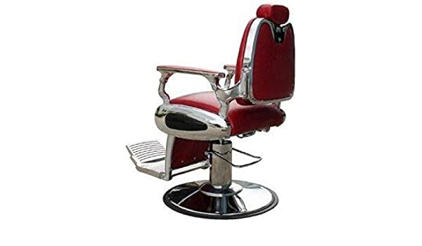 BARBURYS Massiver Barber Stuhl Friseurstuhl Bedienungsstuhl