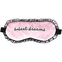Andy's share Komfortable Seidensatin Wort Ballettröckchen Schlafmaske Augenabdeckung Personalisierte Spitzeschablone... preisvergleich bei billige-tabletten.eu