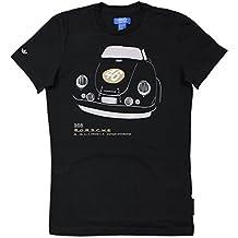 097af402b38d adidas Originals Herren Porsche 356 Design Tee Shirt Schwarz 911 Oldtimer  S XL
