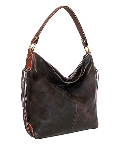 ladies-designer-100-vintage-leather-hobo-handbag-shopper-shoulder-bag-braun