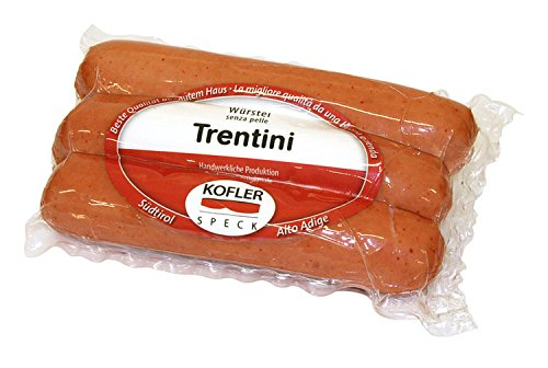 Würstel Trentino senza pelle 3 pz SV ca. 300 gr. - Kofler Speck