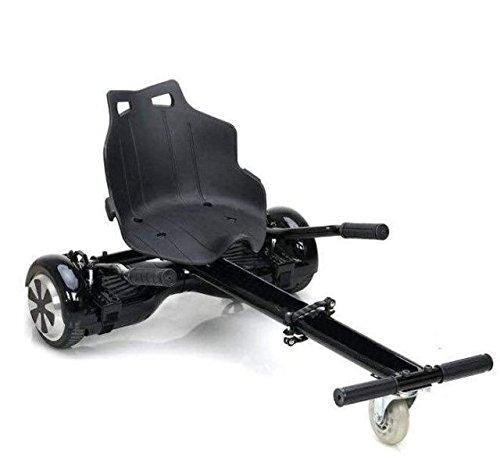 Sumun Sbksgt Asiento Kart Hoverboard, Juventud Unisex, Negro, 6.5