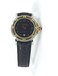 Montre Raymond Weil Femme 9989au quartz (Batterie) acier Quandrante Noir Bracelet Cuir