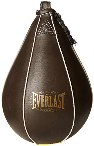 Everlast Erwachsene Boxartikel 5326 Vintage Style Speed Bag 1 x 7 1910 Collection Speedbag, Brown, One Size -