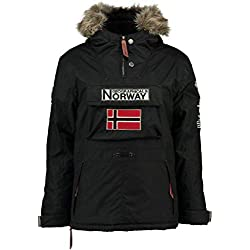 Geographical Norway Parka NIÑO Boomerang Negro 16