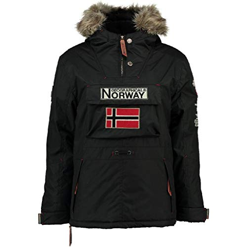 Geographical Norway Parka NIÑO Boomerang Negro 12