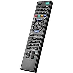 Nouveau Remplacement Télécommande NVTC RM-L1165 Compatible pour Tous Sony Bravia Smart LCD LED HD TV Télécommande Rm-ed047 Rm-ed054 rm-ed060 - TV Télécommande Universelle sans Réglage