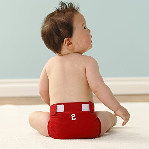 gNappies Little gPants Stoffwindel rot Größe L (10-16 kg) -
