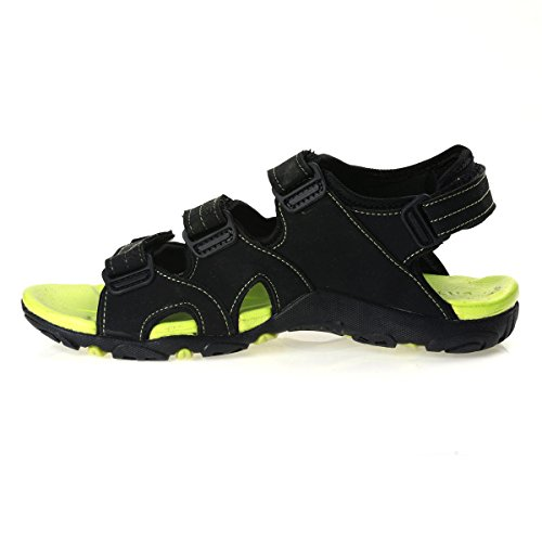 e7f48697c91d Paragon Stimulus Neon Green Velcro Sports Sandals For Men Best Deals ...