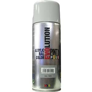 Novasol spray - pinty 600g - Bombe de peinture grise ral7035 brillant Pinty Plus Evolution