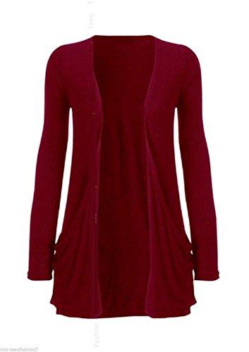 Candy Floss Fashion -  Coprispalle  - cardigan - Basic - Maniche lunghe  - Donna Teal