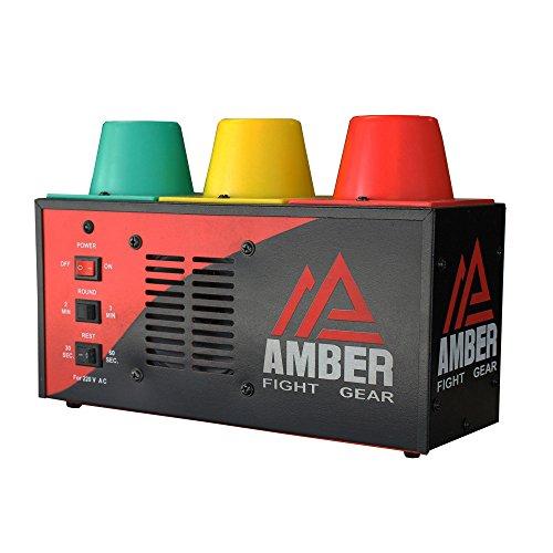Amber Fight Gear Muay Thai Interval Gym Timer, Mehrfarbig, 30 cm -
