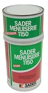 Sader - Colle uree formol menuiserie 1150 - Type.Pot - Cond. Kg.1,2 -