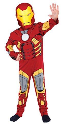Kostüm Iron Man™ für die kleinen Helden - 7-9 Jahre (Iron Man Kostüm 8 9)
