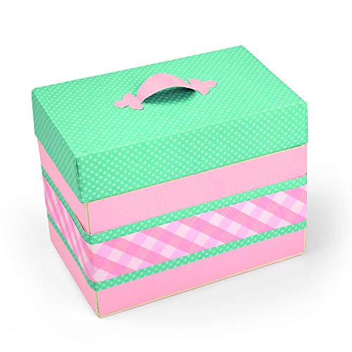 Sizzix Box Treasure Fustella, Multicolore, taglia unica - 2