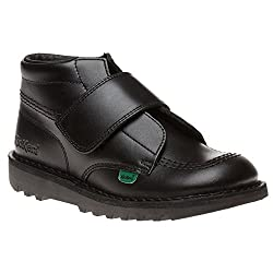 Kickers Junior Kick Kilo J Core Kids Unisex Boots - 41GBWXMGScL - Kickers Junior Kick Kilo J Core Kids Unisex Boots