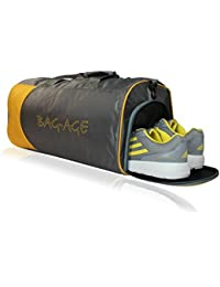 Bag-Age Duffle Bag Gym, Travel with Shoe Compart Bag