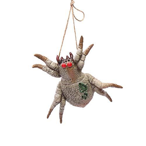 Kostüm Accessoires Spider - Chanhan Halloween-Party-Kostüm, Schmuck, Accessoires, Geschenke, vielfältigen Bedürfnissen der Benutzer gerecht zu Werden. Für Damen und Mädchen, Vinyl, Poisonous Spider