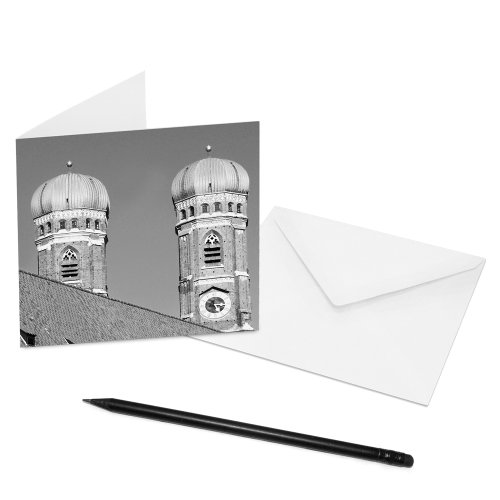 set-of-10-folding-cards-munich-14-x-14-cm-inside-blank-image-allianz-arena-with-envelope