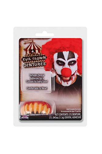 Unbekannt Scary It Clown Pennywise Stil Wies Zähne mit Kitt