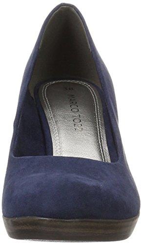 Marco Tozzi 22411, Scarpe con Tacco Donna Blu (Navy 805)