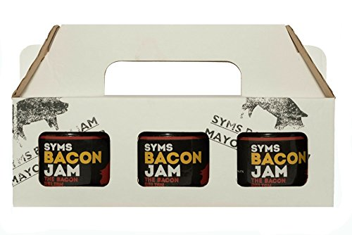 Syms Pantry Bacon Jam with Habanero Chilli - Triple Pack 3x 120g jars