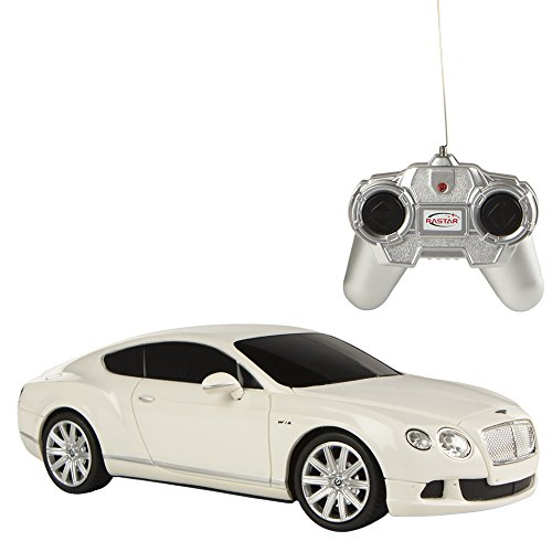 rastar-bentley-continental-gt-speed-coche-teledirigido-escala-124-color-blanco-colorbaby-85049